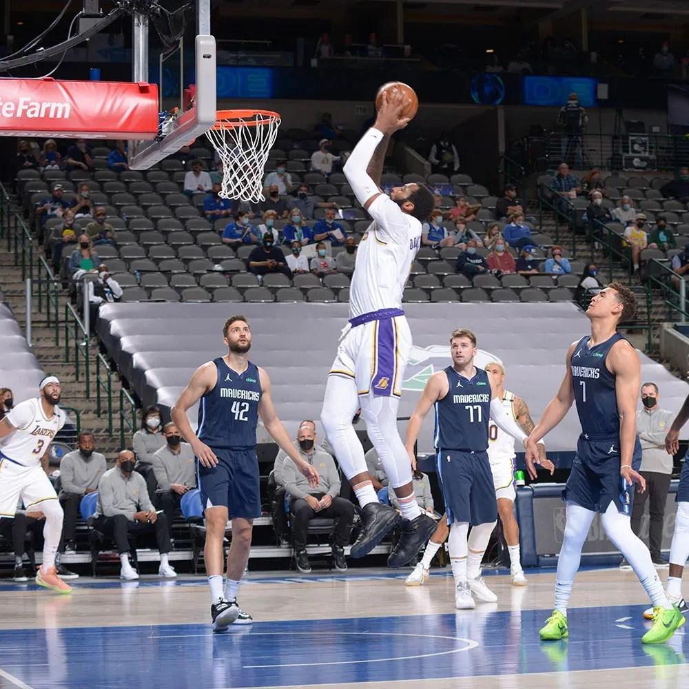 Andre Drummond, Los Angeles Lakers vs Dallas Mavericks