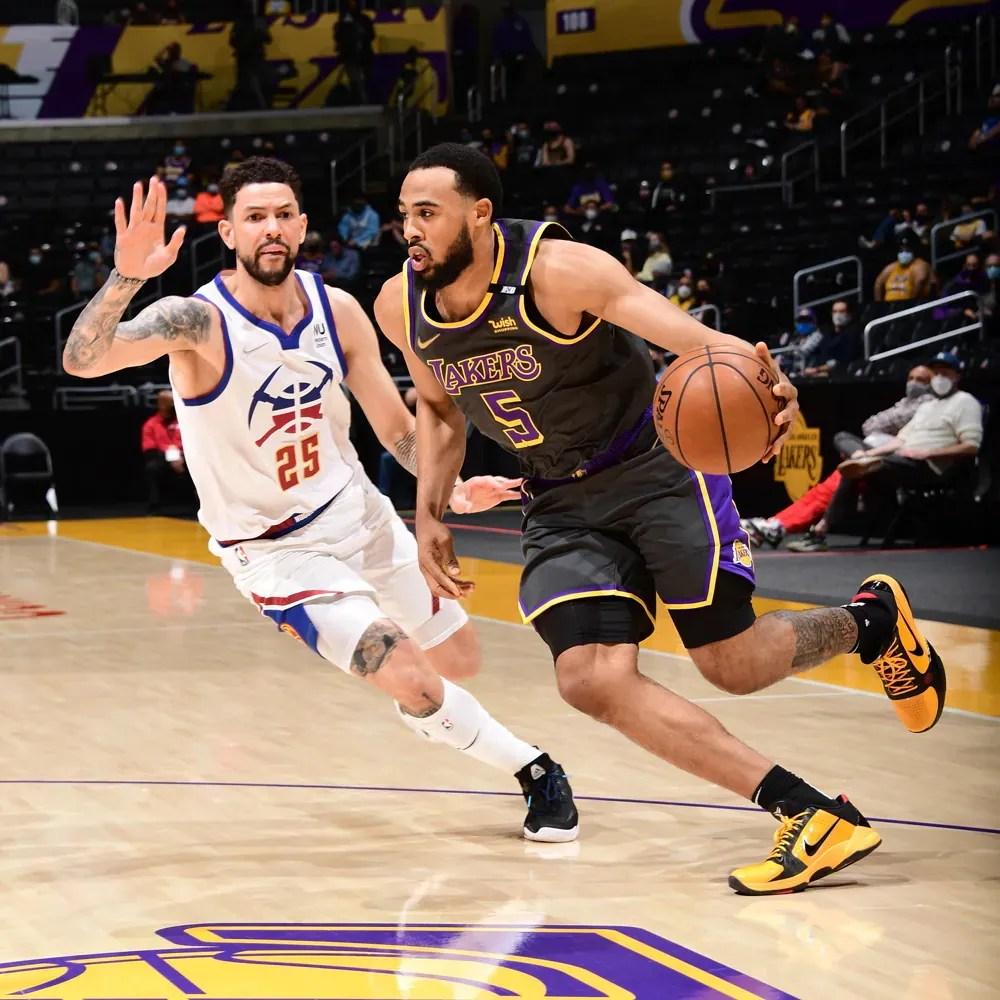 Talen Horton-Tucker, Los Angeles Lakers vs Denver Nuggets