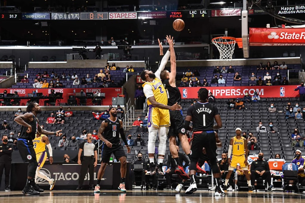 Andre Drummond, Los Angeles Lakers vs LA Clippers
