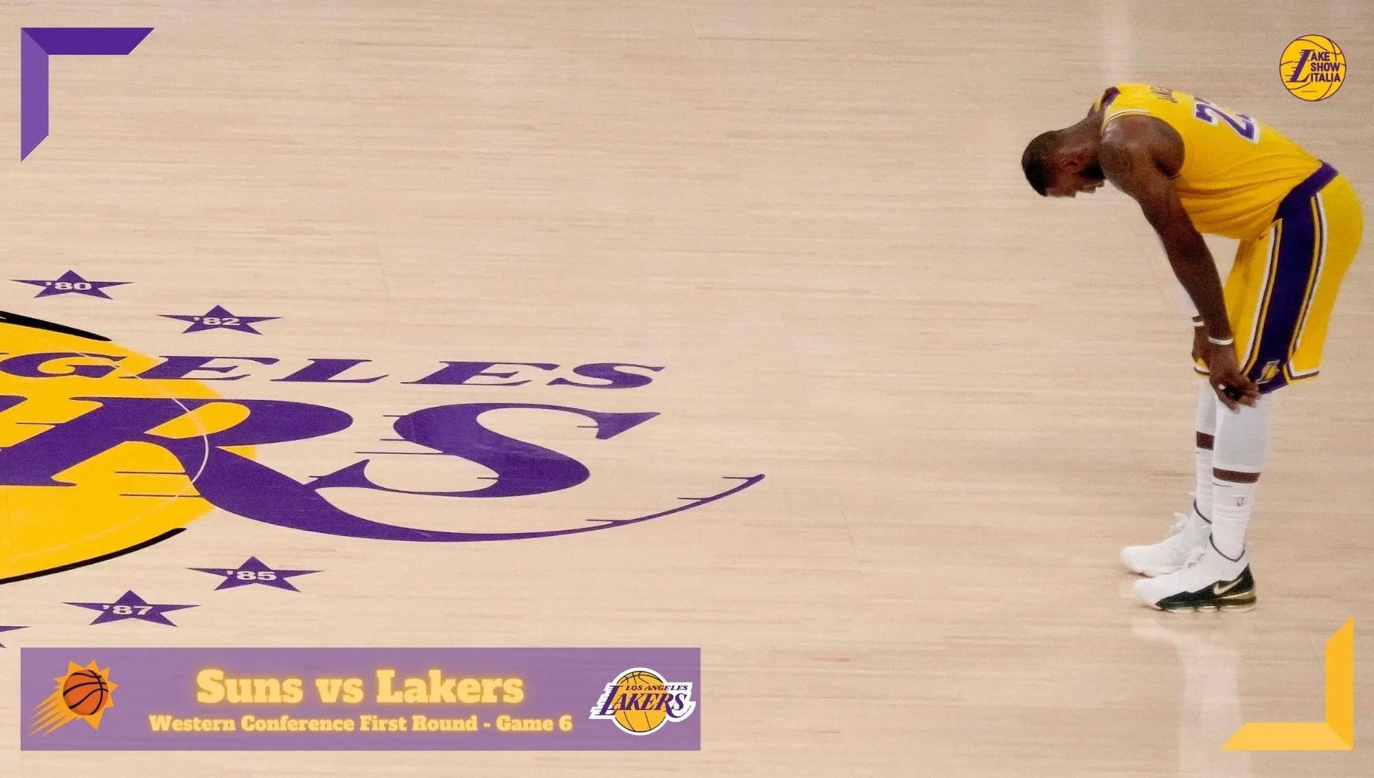 I Phoenix Suns dominano anche Gara 6 trascinati da uno strepitoso Devin Booker. I Los Angeles Lakers e LeBron James costretti ad abdicare.