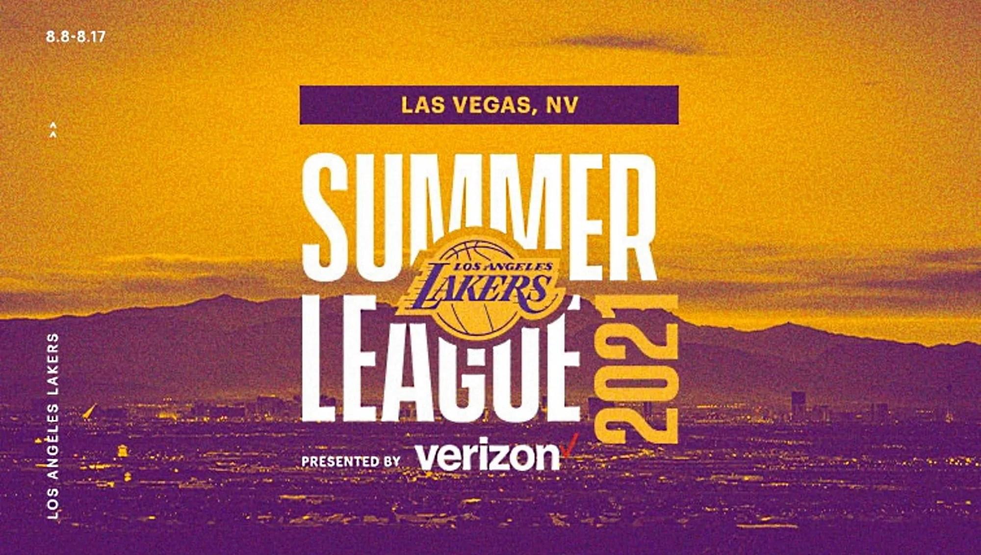 Nell'attesa di scoprire quale sarà il roster dei Los Angeles Lakers, l'NBA ha annunciato il calendario della Summer League di Las Vegas.