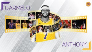 Carmelo Anthony Los Angeles Lakers