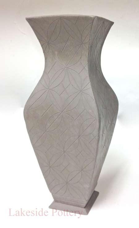 Glazed Ceramic Square Pots
