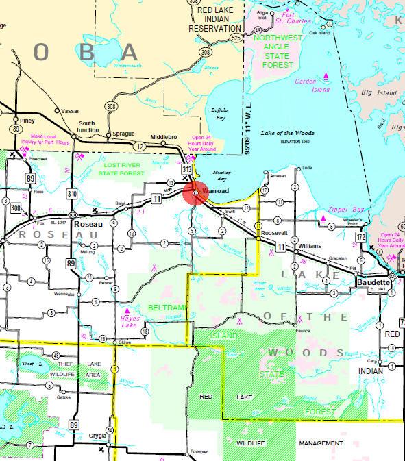 roseau county Welcome to roseau county's gis public  map service disclaimer: roseau.