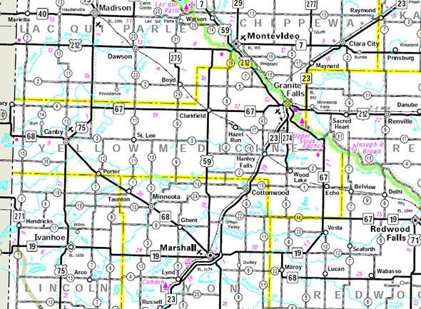 It S The Only Yellow Medicine County In The U S