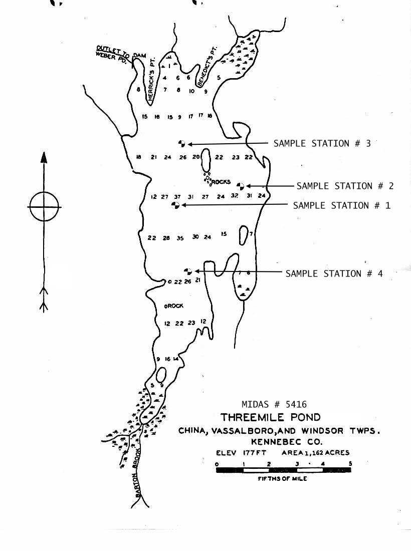China Lake Maine Map.Map China Lake Maine