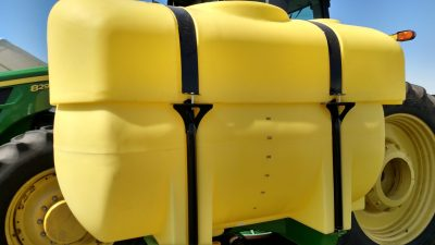 400 Gallon with top Tank on side mount