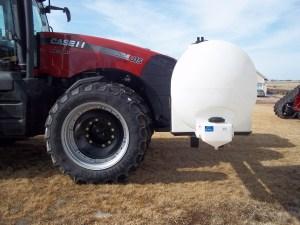 Lakestate Mfg tanks designed for leaving plenty of room for turning