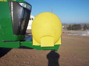 single front mount 400 gal
