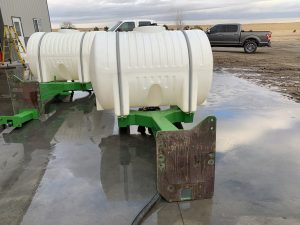 Used 500 Gallon tractor tanks