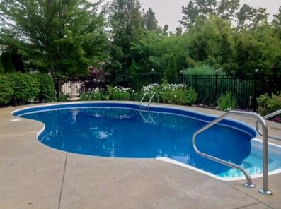 Stunning setting in ground pool