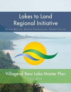 Full Document: Village of Bear Lake Master Plan (51MB)