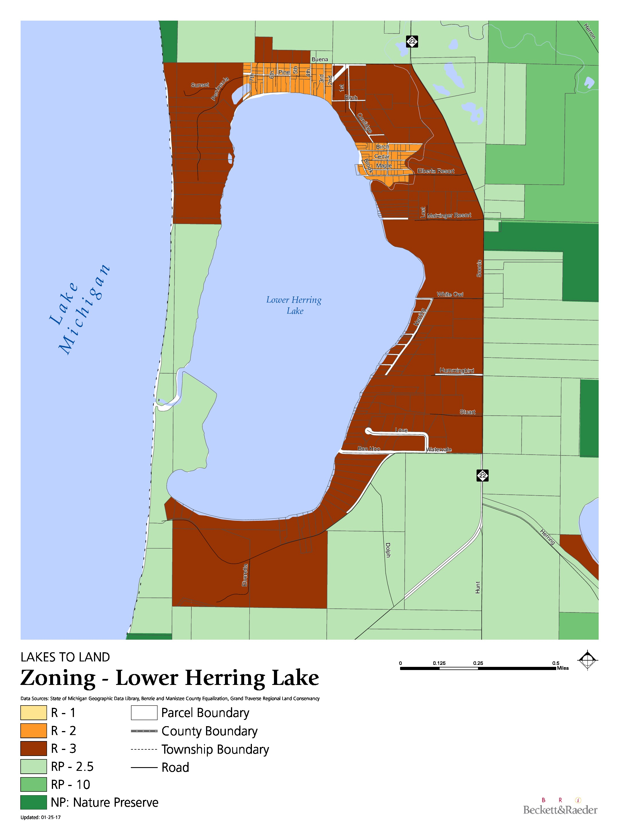 Zoning - Lower Herring Lake