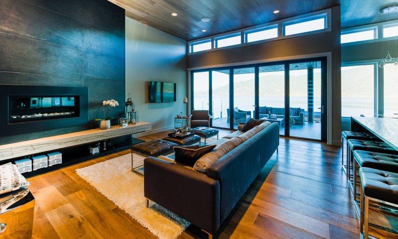 Great Room In Waterside Show Home