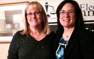 Dylan Sullivan, right, will join El Dorado County Superior Court Judge Suzanne Kingsbury. Photo/Wendy David