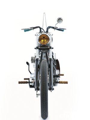 The Gas Box   1976 Harley-Davidson FXE Shovelhead - Street Chopper
