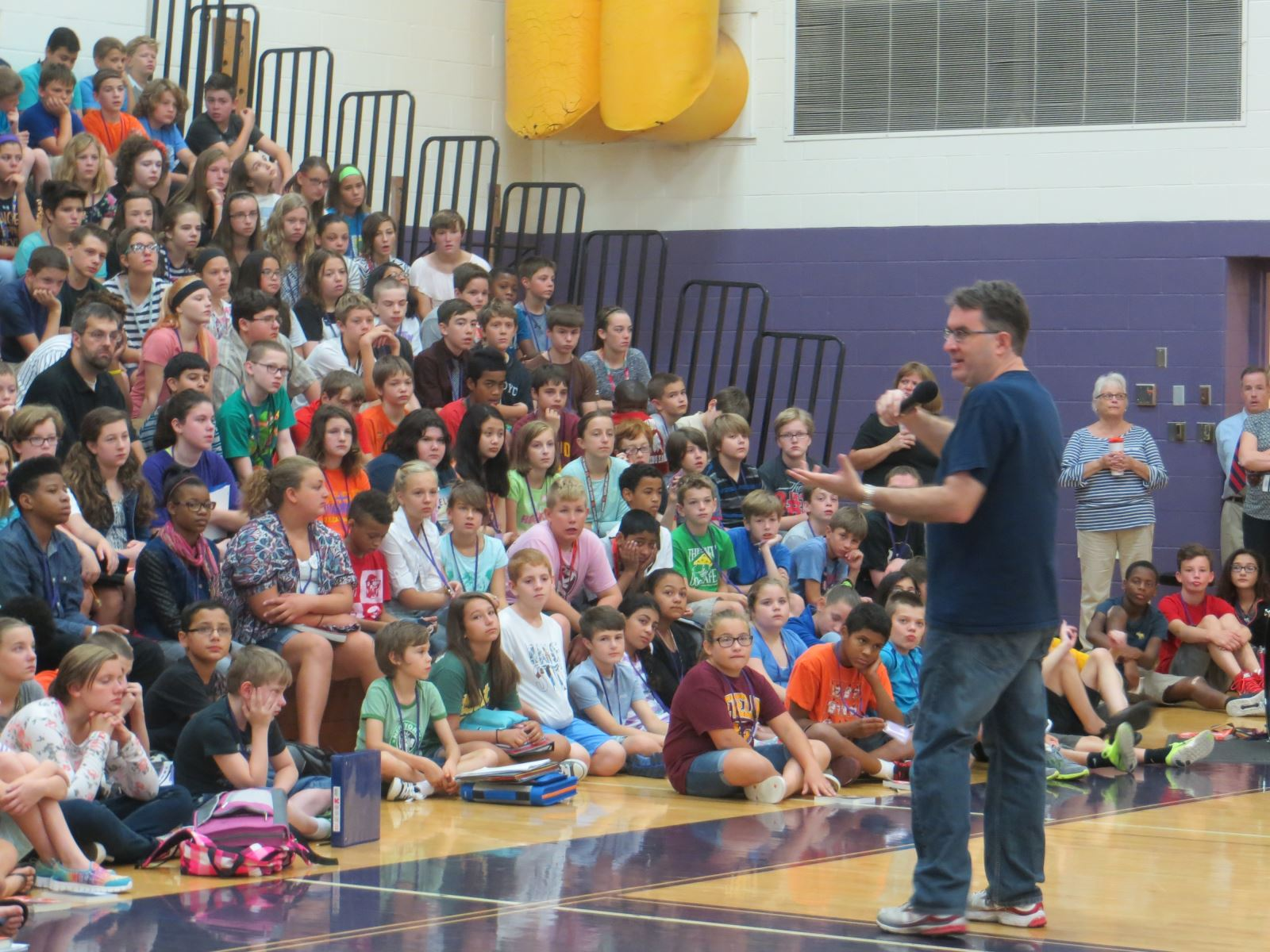 Summer Reading Book Author Visits Middle Schools