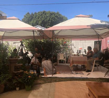 Study Retreat in the Garden