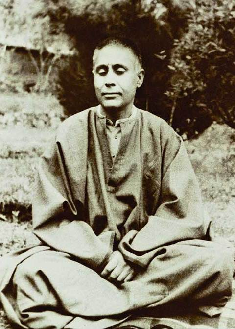 Swami Lakshmanjoo meditation