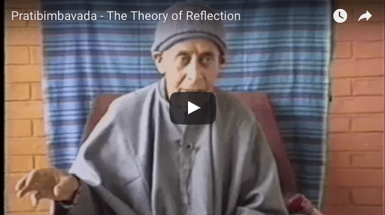 Pratibimbavada, the theory of reflection