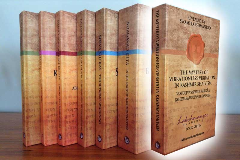 seven book series by the Lakshmanjoo Academy seven book series, Kashmir Shaivism, free shipping