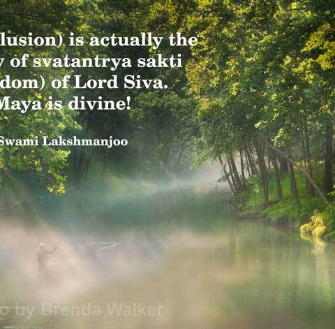 Why māyā (illusion) is svātantrya (freedom) in Kashmir Shaivism