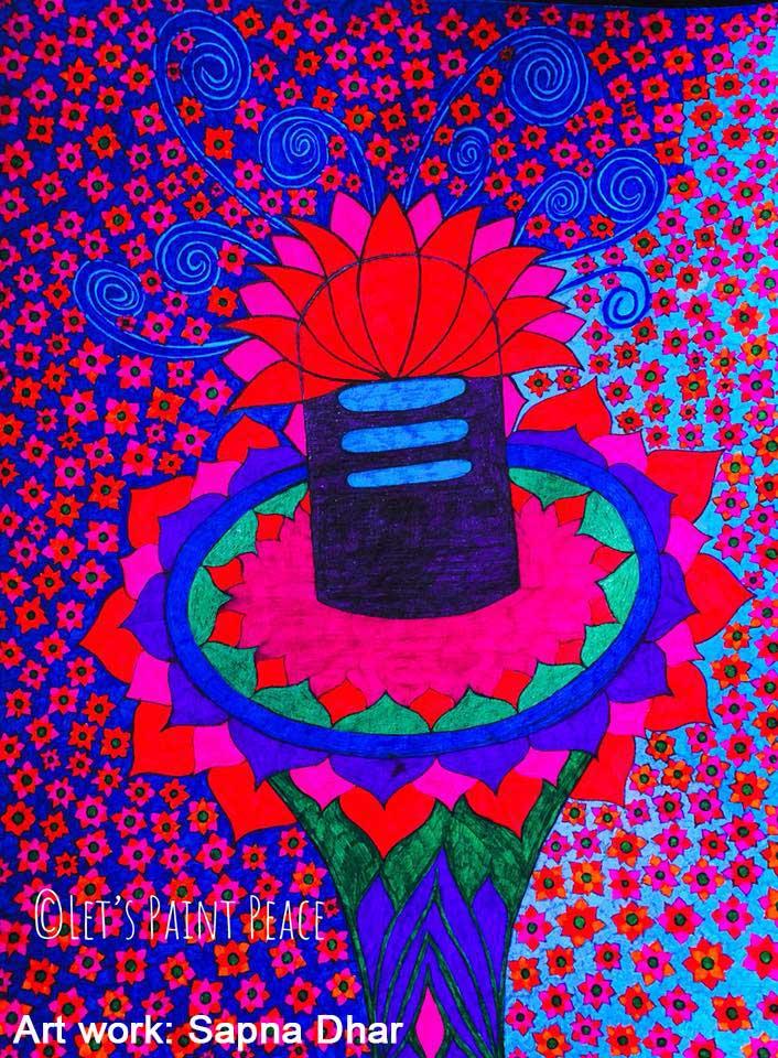 Sapna Dhar Katiyar www.letspaintpeace.com