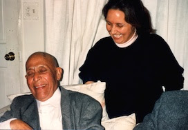 Swami Lakshmanjoo with Denise Hughes