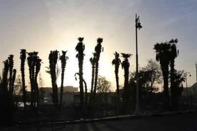 Zonsondergang in Hurghada