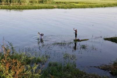 Vissers in de Nijl