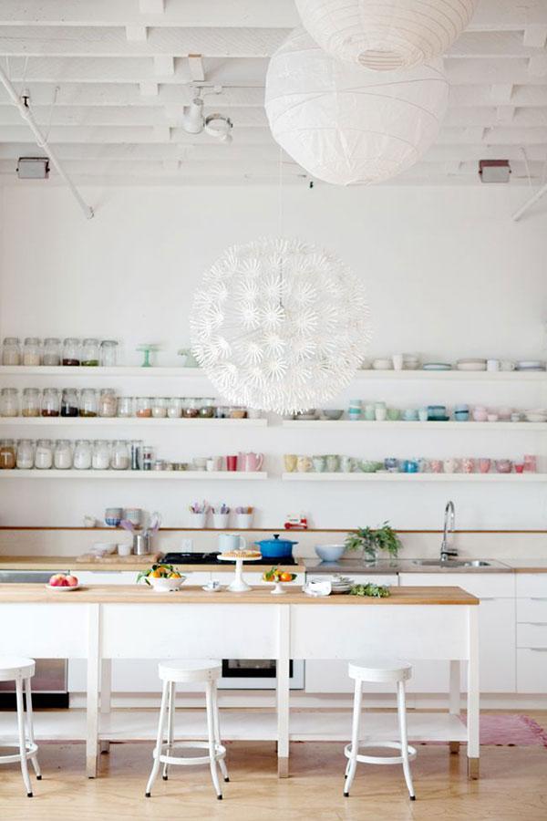lack shelves 7 via la la lovely