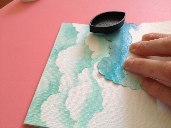 la la loving cloud art