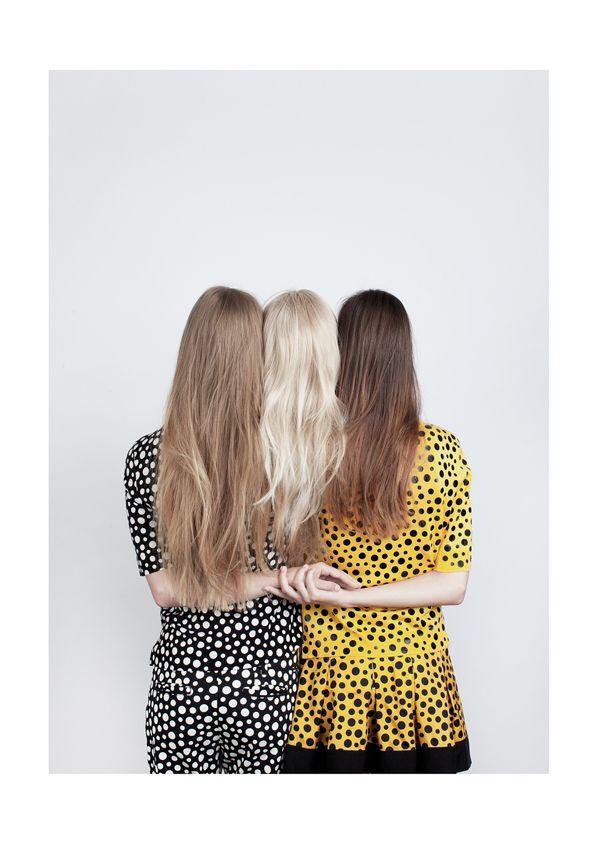 hair via la la lovely