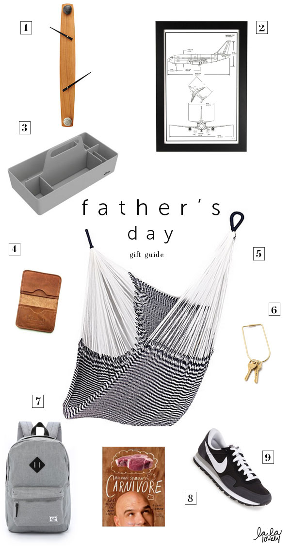 father's day gift guide via La La Lovely blog