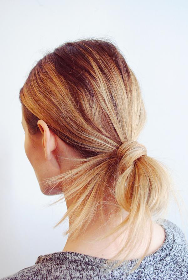 la la loving wrapped-hair-bun
