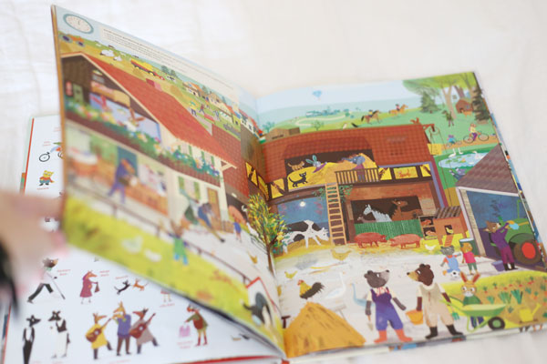 busy bunny town book | La La Lovely