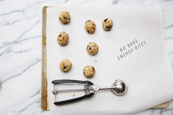 No Bake Energy Bites Recipe | La La Lovely
