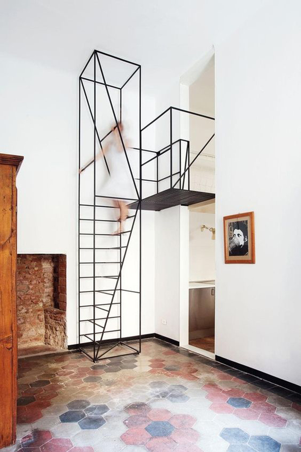 la la loving geometric ladders