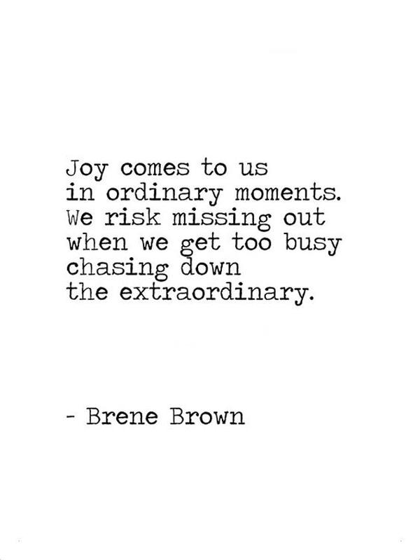 la la loving joy in ordinary moments