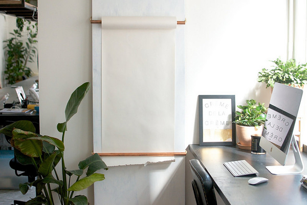 DIY Notebook Scroll Board | La La Loving