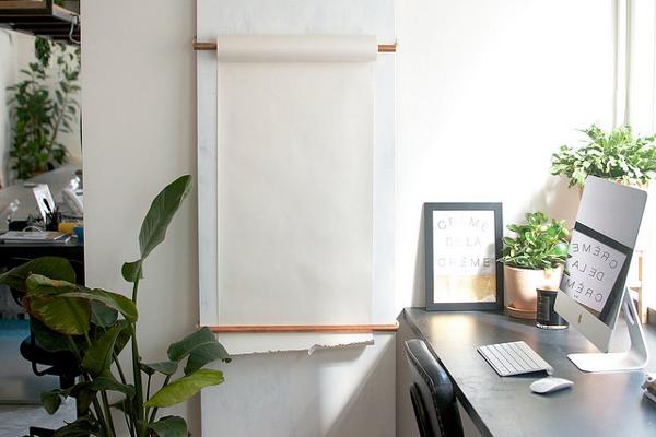 DIY Notebook Scroll Board | La La Loving
