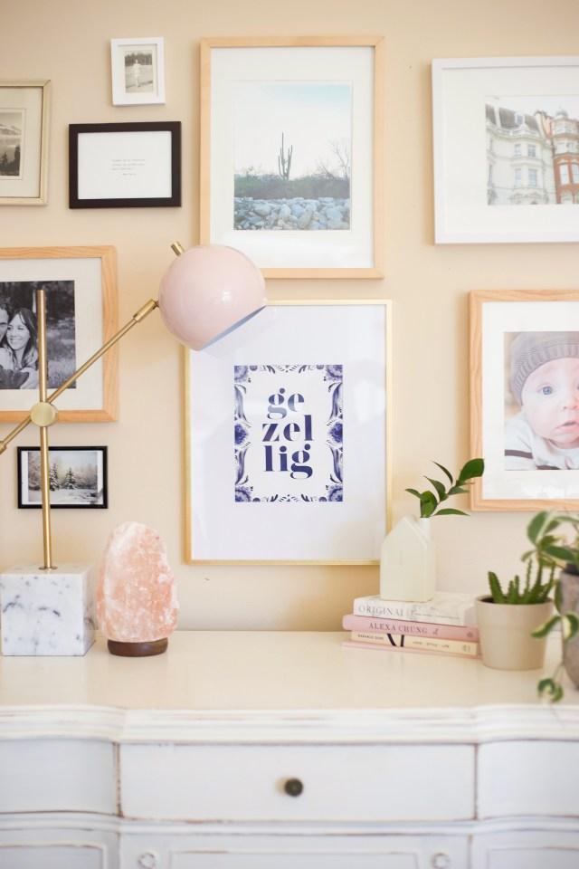 Gezellig Print / La La Lovely Book