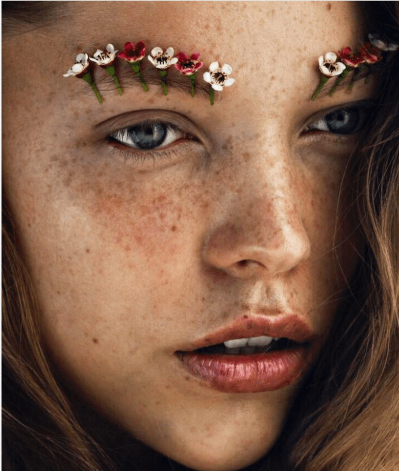 Flowers in the Brows