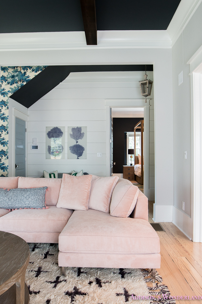 Pink Sectional
