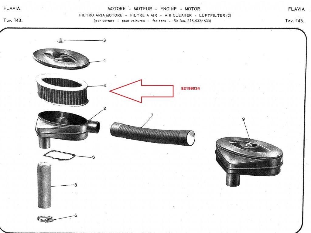 Carburetors Amp Exhausts Air Filter Lalancia