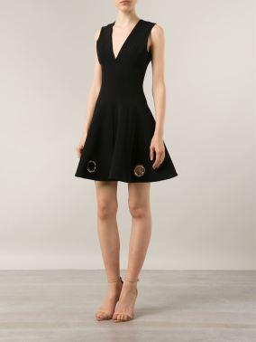 4-Jennifer-Hudsons-We-Day-Illinois-Cushnie-et-Ochs-Grommet-Eyelet-Embellished-Flare-Black-Dress