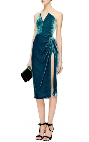 vestido de veludo 2017 16