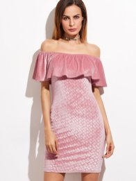 vestido de veludo 2017 20