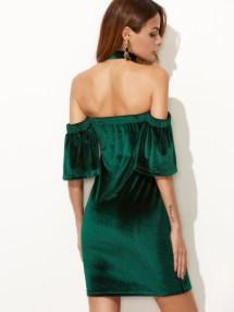 vestido de veludo 2017 22