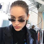 tendência óculos pequenos 2018 8